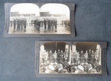 Two Important WW I Stereo Card Views