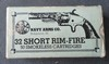 Navy Arms 32 Short Rim Fire Cartridges in Original Box