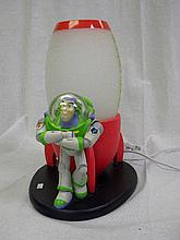 Disney Buzz Lightyear Space Crane Lamp Light