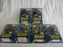 Lot of Six Spawn Action Figures by Todd McFarlane