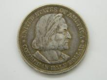 1893 USA Colombian Exposition Half Dollar