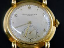 Historic WWII 18 k Vacheron & Constantin Wrist Watch