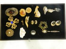 High End Lot of Vintage Costume Jewelry.