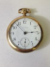 Ca. 1908 Waltham Heavy Gold Fill Pocket Watch.