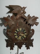 Antique German Dan Wiedel Cuckoo clock