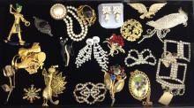 Outstanding Collection of Vintage to Modern Costume Jewelry.