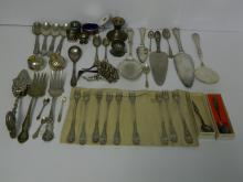 Unusual Lot of Vintage Sterling and Plated Silver