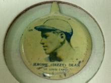 1938 Our National Game Pin Dizzy Dean St. Louis Cardinals