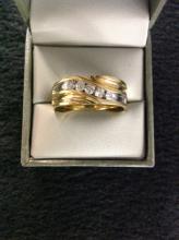3/4ct Diamond 10k Gold