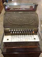 National Brass Cash Register