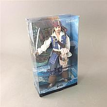 PIRATES OF THE CARIBBEAN BARBIE PINK LABEL