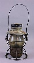 NYCS RAILROAD LANTERN,  HANDLAN CO. 9 1/2