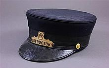 EARLY P.R.R. CONDUCTOR'S HAT
