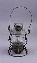 HVRR RAILROAD LANTERN, KEYSTONE LANTERN CO. 10