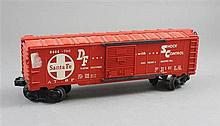 LIONEL POST WAR #6464-700 SANTA FE BOX CAR