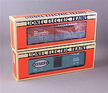 LIONEL MODERN ERA #9469 NYC BOX CAR AND #17221 NYC BOX CAR IN ORIGINAL BOXES