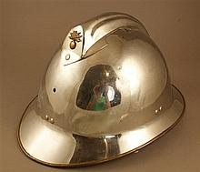 FRENCH MODEL A-33 FIREFIGHTERS HELMET