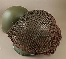 M-1 HELMET WITH LINER AND NETTING