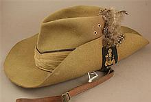 2ND KING'S AFRICAN RIFLES SLOUCH HAT