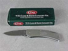 2000 CASE KNIFE LOCK CUT M300L SS WITH ORIGINAL BOX, NEVER USED -