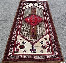 PERSIAN SARAB RUNNER, 3.2 X 7.5