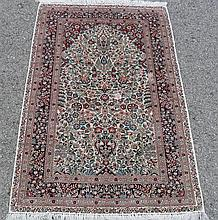 PURE SILK TURKISH HEREKE, 2.7 X 4
