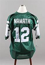 SIGNED NFL JERSEY,  JETS JOE NAMATH #12