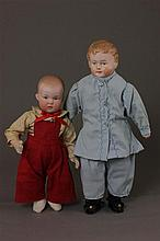 2 BOY DOLLS INCLUDING 9