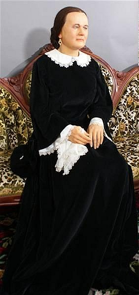 MARY TODD LINCOLN WAX FIGURE BY KATHERINE STUBERGH
