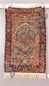 ORIENTAL RUG ANTIQUE PERSIAN KIRMAN, 2 X 3.3