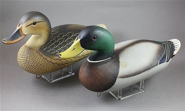 PAIR CHARLES JOINER MALLARDS