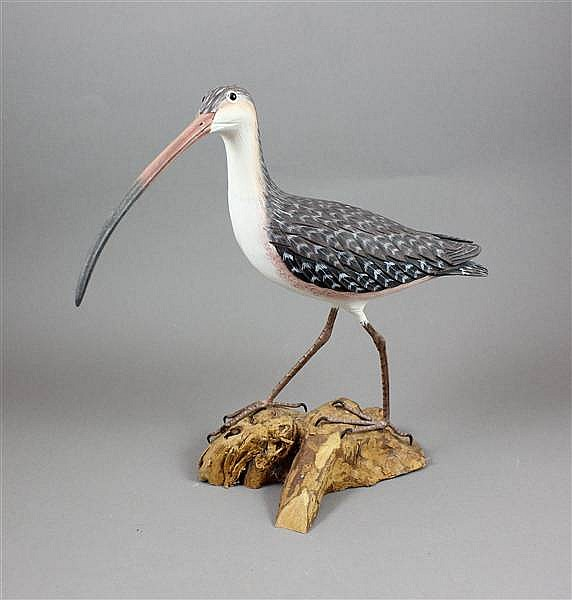 WOODEN SHORE BIRD
