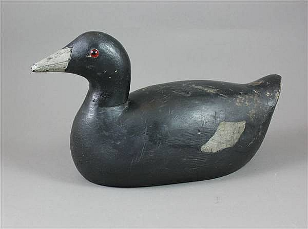 ATTRIBUTED TO ED MURPHY COOT DECOY