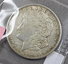 1921S MORGAN SILVER DOLLAR
