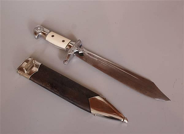 WWII GERMAN TENO DAGGER BY EICKHORN