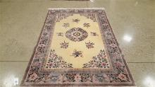 ORIENTAL RUG CHINESE SCULPTED, 6.1' X 9.8'