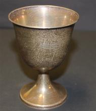 TOWLE STERLING SILVER GOBLET, 4
