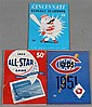 (3) CINCINNATI REDS PROGRAMS INCLUDING 1953 ALL STAR GAME