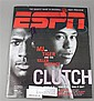 SIGNED ESPN MAGAZINE MICHAEL JORDAN ON TIGER WOODS