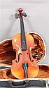 JOSEF LORENZ VIOLIN MADE IN CZECHOSLOVAKIA