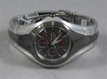 SEIKO CHRONOGRAPH 100M MEN'S STAINLESS STEEL WATCH