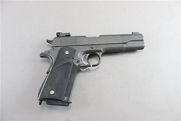 COLT MODEL 1911A1 NATIONAL MATCH? .45 CALIBER SEMI AUTOMATIC PISTOL SERIAL NUMBER 789941