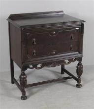 TURN OF THE CENTURY STYLE 2 DRAWER SERVER
