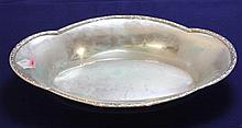 800 SILVER OVAL DISH, 13