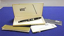 MONTBLANC FOUNTAIN PEN WITH ORIGINAL BOX AND PAPERS