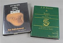 LOT 2 BOOKS INCLUDING J.P. SAUER & SOHN VOLUME II, AND HISTORICAL STUDY OF SAUER AUTOMATIC PISTOLS