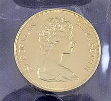 1973 ISLE OF MAN 5 POUNDS GOLD COIN .9170/39.8134 GRAMS