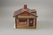 CONVERSE ONE ROOM DOLL HOUSE BUNGALOW 9 1/2