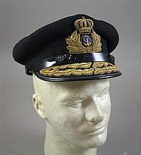 GREEK NAVY ADMIRAL'S VISOR