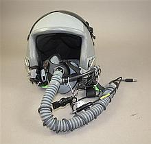 ORIGINAL USAF HGU-55/P FLIGHT HELMET WITH OXYGEN MASK